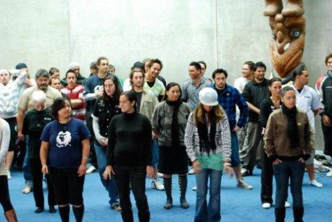 Dance lessons at Te Puna Wanaka
