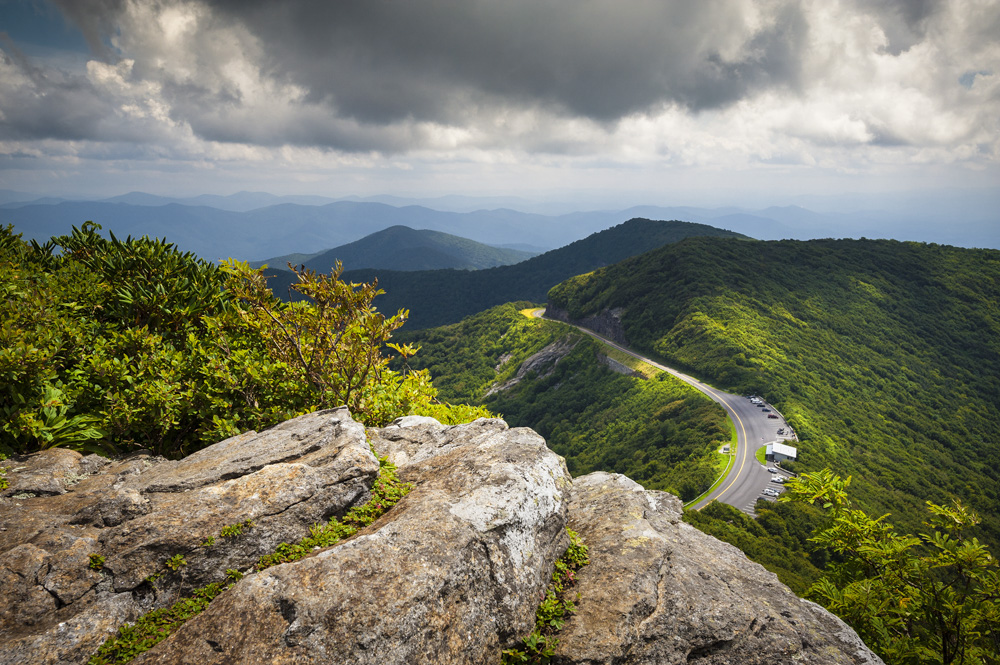 Dappled Light At Craggy Gardens Dave Allen Appalachian Mountain Photography Competition