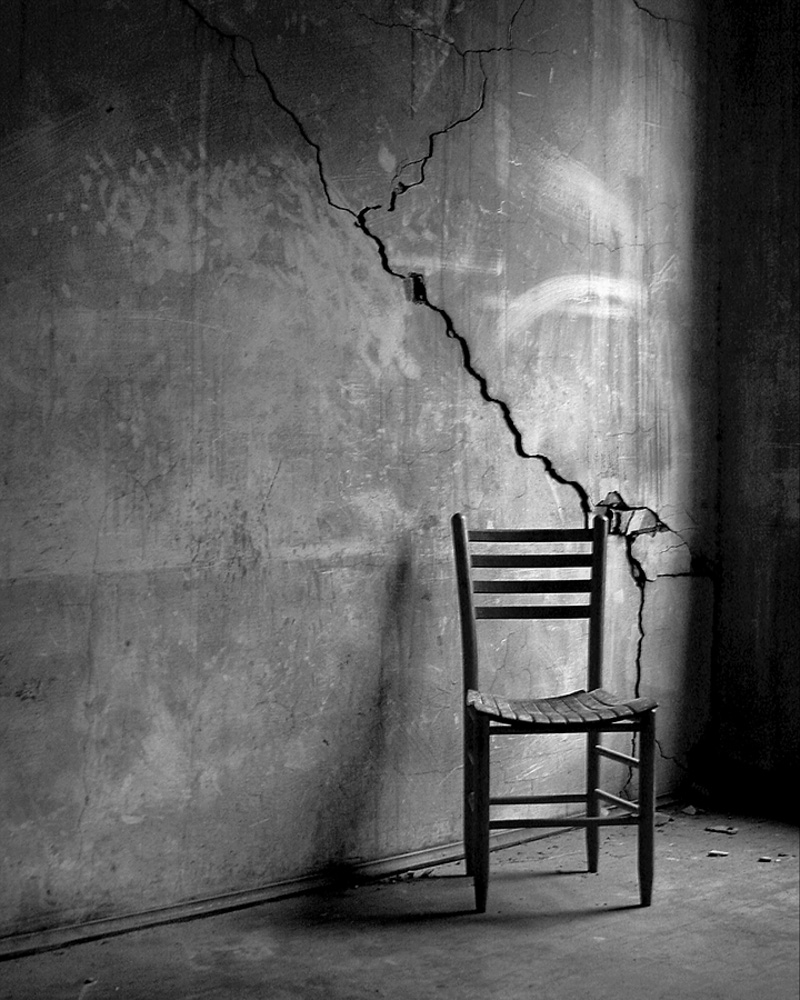 Black and white chair photography - Forgotten Chair Scott Hotaling