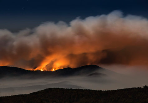 """South Mountain Wildfire"" by Cathy Anderson"